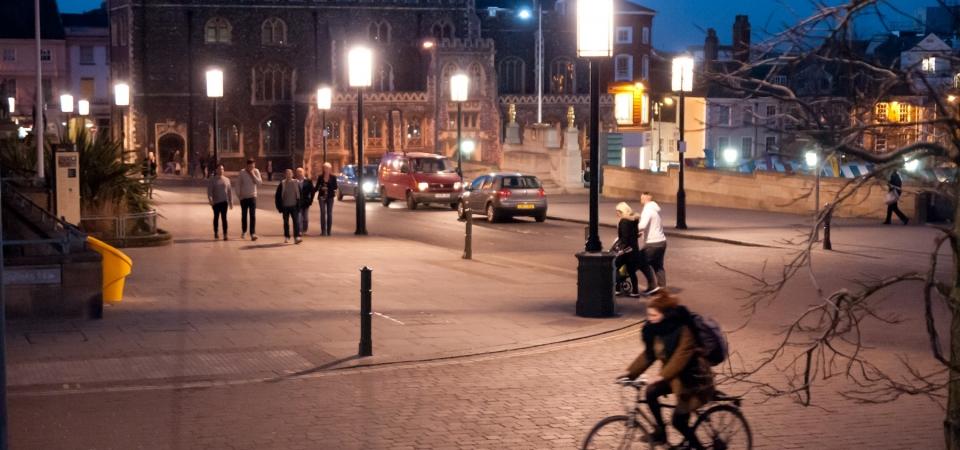 St Peter's Street, Norwich