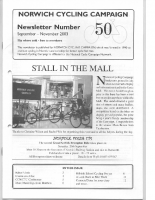 NorwichCyclingCampaign-Newsletter50
