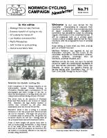 Newsletter 71 – Winter 2008