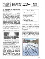 Newsletter 72 – Spring 2009