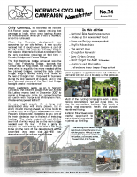 Newsletter 74 – Autumn 2009