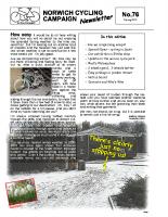 Newsletter 76 – Spring 2010