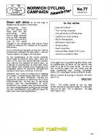 Newsletter 77 – Summer 2010