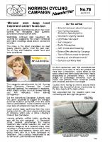 Newsletter 78 – Autumn 2010