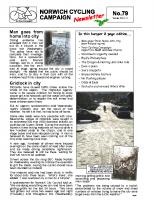 Newsletter 79 – Winter 2011