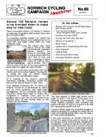 Newsletter 80 – Spring 2011