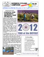Newsletter 84 – Spring 2012