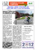 Newsletter 87 – Winter 2013